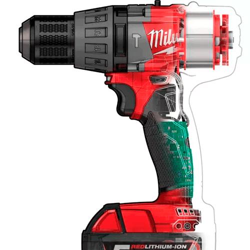 Taladro Percutor Fuel. MILWAUKEE modelo M18 FPD-502X. | Herramientas a batería