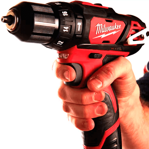 Taladro Percutor. MILWAUKEE modelo M12 BPD-202C. | Herramientas a batería