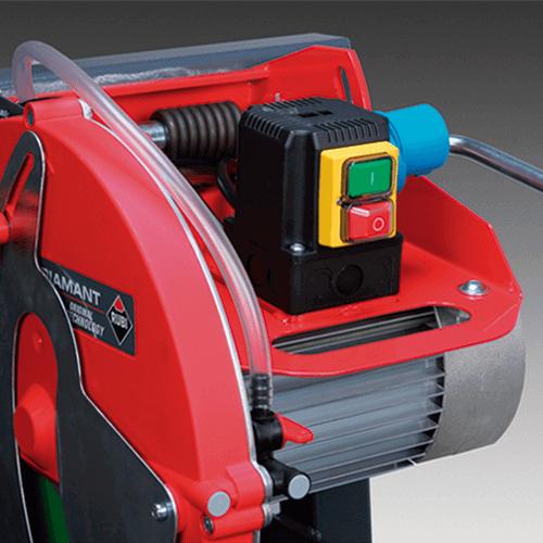 Cortadora Ingletadora Eléctrica RUBI modelo DR – 350 con patas | Cortadoras