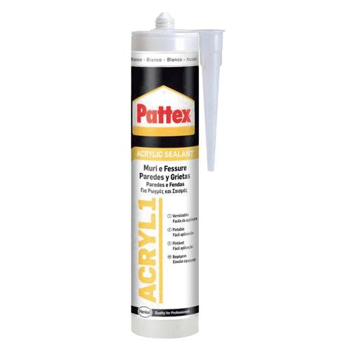 Masilla acrílica Pattex ACRIL01. | Siliconas y Selladores