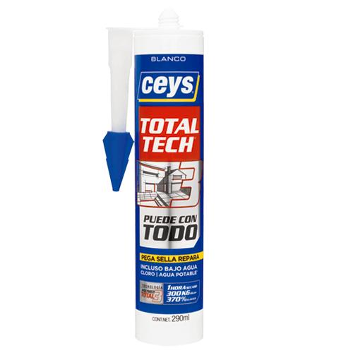 Polímero MS CEYS Total Tech Xpress. | Siliconas y Selladores