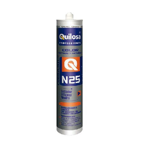 Silicona neutra Quilosa N-25. | Siliconas y Selladores